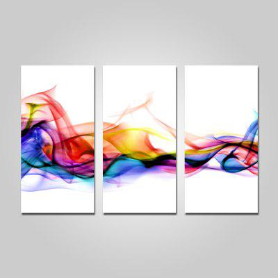 Buy COLORMIX JOY ART Abstract Print Framed Canvas Painting 3PCS for $44.23 in GearBest store