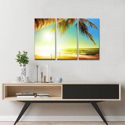 JOY ART Sunshine Beach Print Framed Canvas Painting 3PCSPrints<br>JOY ART Sunshine Beach Print Framed Canvas Painting 3PCS<br><br>Brand: JOY ART<br>Craft: Print<br>Form: Three Panels<br>Material: Canvas<br>Package Contents: 3 x Print<br>Package size (L x W x H): 62.00 x 8.00 x 32.00 cm / 24.41 x 3.15 x 12.6 inches<br>Package weight: 1.5000 kg<br>Painting: Include Inner Frame<br>Product weight: 1.3000 kg<br>Shape: Vertical<br>Style: Scenery / Landscape<br>Subjects: Landscape<br>Suitable Space: Bedroom,Hallway,Hotel,Living Room,Office