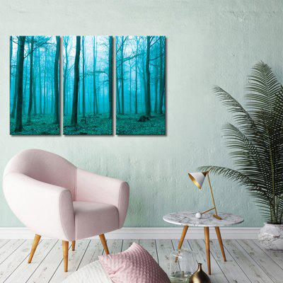 JOY ART Forest Print Framed Canvas Painting 3PCSPrints<br>JOY ART Forest Print Framed Canvas Painting 3PCS<br><br>Brand: JOY ART<br>Craft: Print<br>Form: Three Panels<br>Material: Canvas<br>Package Contents: 3 x Print<br>Package size (L x W x H): 62.00 x 8.00 x 32.00 cm / 24.41 x 3.15 x 12.6 inches<br>Package weight: 1.7000 kg<br>Painting: Include Inner Frame<br>Product weight: 1.3000 kg<br>Shape: Vertical<br>Style: Scenery / Landscape<br>Subjects: Still Life<br>Suitable Space: Dining Room,Hallway,Office