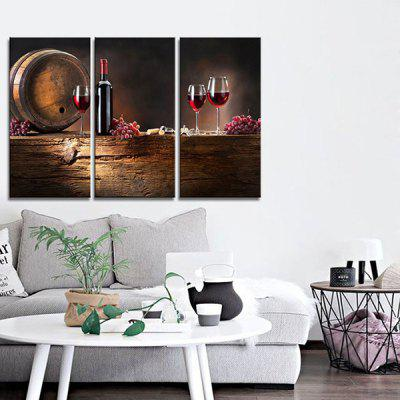JOY ART Red Wine Bowl Print Framed Canvas Painting 3PCSPrints<br>JOY ART Red Wine Bowl Print Framed Canvas Painting 3PCS<br><br>Brand: JOY ART<br>Craft: Print<br>Form: Three Panels<br>Material: Canvas<br>Package Contents: 3 x Print<br>Package size (L x W x H): 62.00 x 8.00 x 32.00 cm / 24.41 x 3.15 x 12.6 inches<br>Package weight: 1.5000 kg<br>Painting: Include Inner Frame<br>Product weight: 1.3000 kg<br>Shape: Vertical<br>Style: Artistic Style<br>Subjects: Still Life<br>Suitable Space: Cafes,Hallway,Hotel,Kitchen,Living Room