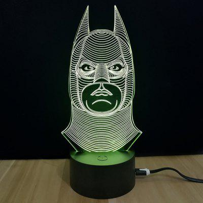 M.Sparkling 3D Creative Farebné USB Powered Night Lamp