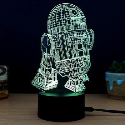 M.Sparkling 3D Creative Colorful USB Powered Night Lamp3D Lamps<br>M.Sparkling 3D Creative Colorful USB Powered Night Lamp<br><br>Available Light Color: RGB<br>Brand: M.Sparkling<br>Emitter Types: SMD 3528<br>Holder: Other<br>Input Voltage: DC 5V<br>Material: ABS, Acrylic<br>Package Contents: 1 x Acrylic Board, 1 x ABS Pedestal, 1 x USB Cable, 1 x English Manual<br>Package size (L x W x H): 24.00 x 17.00 x 5.00 cm / 9.45 x 6.69 x 1.97 inches<br>Package weight: 0.2800 kg<br>Product size (L x W x H): 15.00 x 8.70 x 22.00 cm / 5.91 x 3.43 x 8.66 inches<br>Product weight: 0.1200 kg<br>Suitable for: Exhibition, Party, Night Light, Home Decoration, Holiday Decoration<br>Wattage: 0.5W