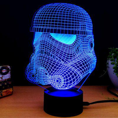 M.Sparkling 3D Creative Colorful USB Night Lamp