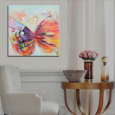 Mintura MT160652 Hand Painted Butterfly Oil PaintingOil Paintings<br>Mintura MT160652 Hand Painted Butterfly Oil Painting<br><br>Brand: Macroart<br>Craft: Oil Painting<br>Form: One Panel<br>Material: Canvas<br>Package Contents: 1 x Oil Painting<br>Package size (L x W x H): 86.00 x 5.00 x 5.00 cm / 33.86 x 1.97 x 1.97 inches<br>Package weight: 0.5500 kg<br>Painting: Without Inner Frame<br>Product weight: 0.4000 kg<br>Shape: Square<br>Style: Abstract<br>Subjects: Abstract<br>Suitable Space: Bedroom,Living Room