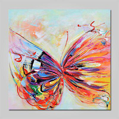 Buy COLORMIX Mintura MT160652 Hand Painted Butterfly Oil Painting for $53.90 in GearBest store