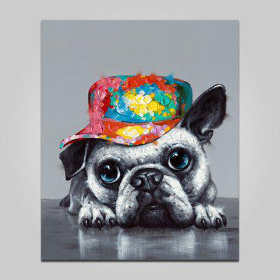Buy COLORMIX YHHP Dog Pattern Printed Painting Canvas Print for $21.56 in GearBest store