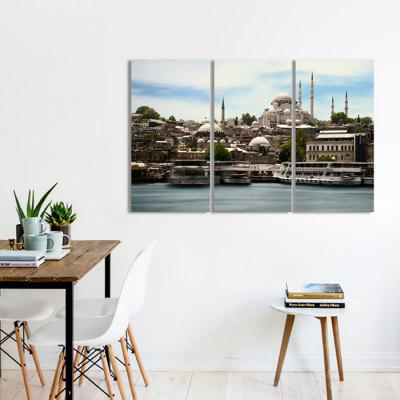JOY ART City Scenery Print Framed Canvas Painting 3PCSPrints<br>JOY ART City Scenery Print Framed Canvas Painting 3PCS<br><br>Brand: JOY ART<br>Craft: Print<br>Form: Three Panels<br>Material: Canvas<br>Package Contents: 3 x Print<br>Package size (L x W x H): 62.00 x 8.00 x 32.00 cm / 24.41 x 3.15 x 12.6 inches<br>Package weight: 1.5000 kg<br>Painting: Include Inner Frame<br>Product weight: 1.3000 kg<br>Shape: Vertical<br>Style: Scenery / Landscape<br>Subjects: Landscape<br>Suitable Space: Bedroom,Dining Room,Hallway