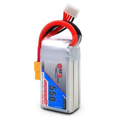 GAONENG LiPo Battery with XT60 Plug 14.8V 550mAh 80C