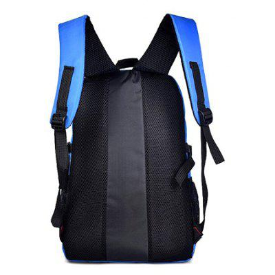 Leisure Large Capacity Backpack for MenBackpacks<br>Leisure Large Capacity Backpack for Men<br><br>Features: Wearable<br>Gender: Men<br>Material: Nylon<br>Package Size(L x W x H): 40.00 x 36.00 x 5.00 cm / 15.75 x 14.17 x 1.97 inches<br>Package weight: 0.6200 kg<br>Packing List: 1 x Backpack<br>Product weight: 0.6000 kg<br>Style: Casual, Fashion<br>Type: Backpacks