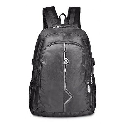 Buy BLACK Male Nylon Trendy Backpack for $25.00 in GearBest store