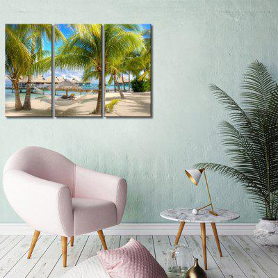 JOY ART Framed Print Modern Coconut Palm Artwork 3PCSPrints<br>JOY ART Framed Print Modern Coconut Palm Artwork 3PCS<br><br>Brand: JOY ART<br>Craft: Print<br>Form: Three Panels<br>Material: Canvas<br>Package Contents: 3 x Print<br>Package size (L x W x H): 62.00 x 8.00 x 32.00 cm / 24.41 x 3.15 x 12.6 inches<br>Package weight: 1.7000 kg<br>Painting: Include Inner Frame<br>Product weight: 1.3000 kg<br>Shape: Vertical<br>Style: Combination<br>Subjects: Seascape<br>Suitable Space: Bedroom,Cafes,Dining Room,Kids Room,Kitchen,Living Room,Office,Study Room / Office