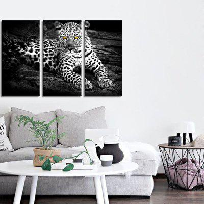 JOY ART Framed Print Modern Leopard Artwork 3PCSPrints<br>JOY ART Framed Print Modern Leopard Artwork 3PCS<br><br>Brand: JOY ART<br>Craft: Print<br>Form: Three Panels<br>Material: Canvas<br>Package Contents: 3 x Print<br>Package size (L x W x H): 62.00 x 8.00 x 32.00 cm / 24.41 x 3.15 x 12.6 inches<br>Package weight: 1.7000 kg<br>Painting: Include Inner Frame<br>Product weight: 1.3000 kg<br>Shape: Vertical<br>Style: Combination<br>Subjects: Animal<br>Suitable Space: Bedroom,Cafes,Dining Room,Kids Room,Kitchen,Living Room,Office,Study Room / Office