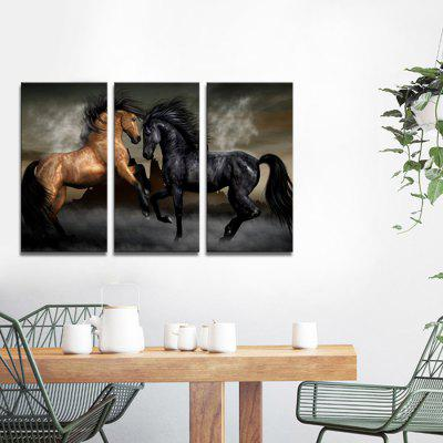 JOY ART Framed Print Modern Horses Hanging Artwork 3PCSPrints<br>JOY ART Framed Print Modern Horses Hanging Artwork 3PCS<br><br>Brand: JOY ART<br>Craft: Print<br>Form: Three Panels<br>Material: Canvas<br>Package Contents: 3 x Print<br>Package size (L x W x H): 62.00 x 8.00 x 32.00 cm / 24.41 x 3.15 x 12.6 inches<br>Package weight: 1.7000 kg<br>Painting: Include Inner Frame<br>Product weight: 1.3000 kg<br>Shape: Vertical<br>Style: Combination<br>Subjects: Animal<br>Suitable Space: Bedroom,Cafes,Dining Room,Kids Room,Kitchen,Living Room,Office,Study Room / Office