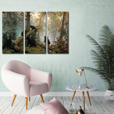 JOY ART Framed Print Modern Bears Hanging Artwork 3PCSPrints<br>JOY ART Framed Print Modern Bears Hanging Artwork 3PCS<br><br>Brand: JOY ART<br>Craft: Print<br>Form: Three Panels<br>Material: Canvas<br>Package Contents: 3 x Print<br>Package size (L x W x H): 62.00 x 8.00 x 32.00 cm / 24.41 x 3.15 x 12.6 inches<br>Package weight: 1.7000 kg<br>Painting: Include Inner Frame<br>Product weight: 1.3000 kg<br>Shape: Vertical<br>Style: Combination<br>Subjects: Animal<br>Suitable Space: Bedroom,Cafes,Dining Room,Kids Room,Kitchen,Living Room,Office,Study Room / Office