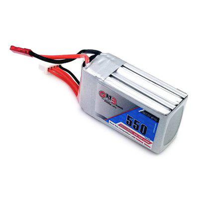14.8V 550mAh 80C LiPo Battery with JST XH-5P PlugBattery<br>14.8V 550mAh 80C LiPo Battery with JST XH-5P Plug<br><br>Package Contents: 1 x Battery<br>Package size (L x W x H): 4.20 x 5.10 x 8.10 cm / 1.65 x 2.01 x 3.19 inches<br>Package weight: 0.0880 kg<br>Product size (L x W x H): 2.20 x 3.10 x 6.10 cm / 0.87 x 1.22 x 2.4 inches<br>Product weight: 0.0780 kg<br>Type: Battery