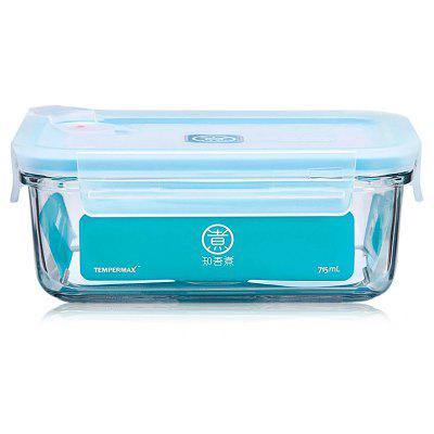 Xiaomi 715ml Rectangle Glass Food Storage Container