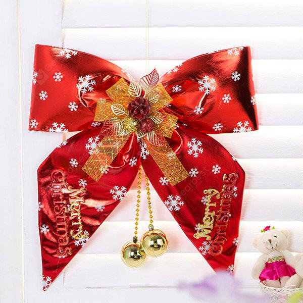 Christmas Decorations Supplies Big Bowknot Hangings