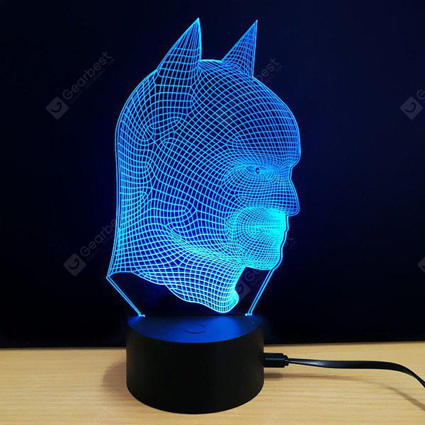 M.Sparkling 3D Creative Colorful USB Powered Night Lamp