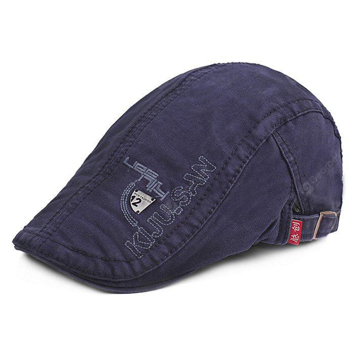 Fashionable Outdoor Embroidery Beret Hat for Men