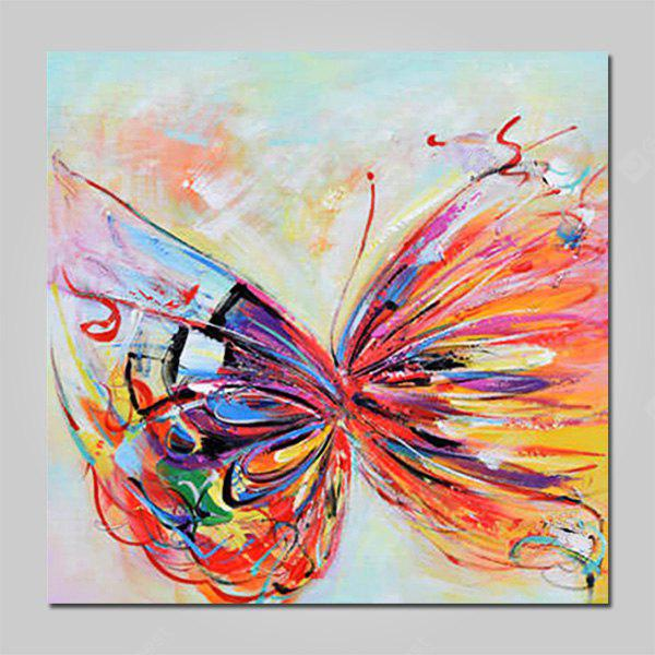 COLORMIX Mintura MT160652 Hand Painted Butterfly Oil Painting