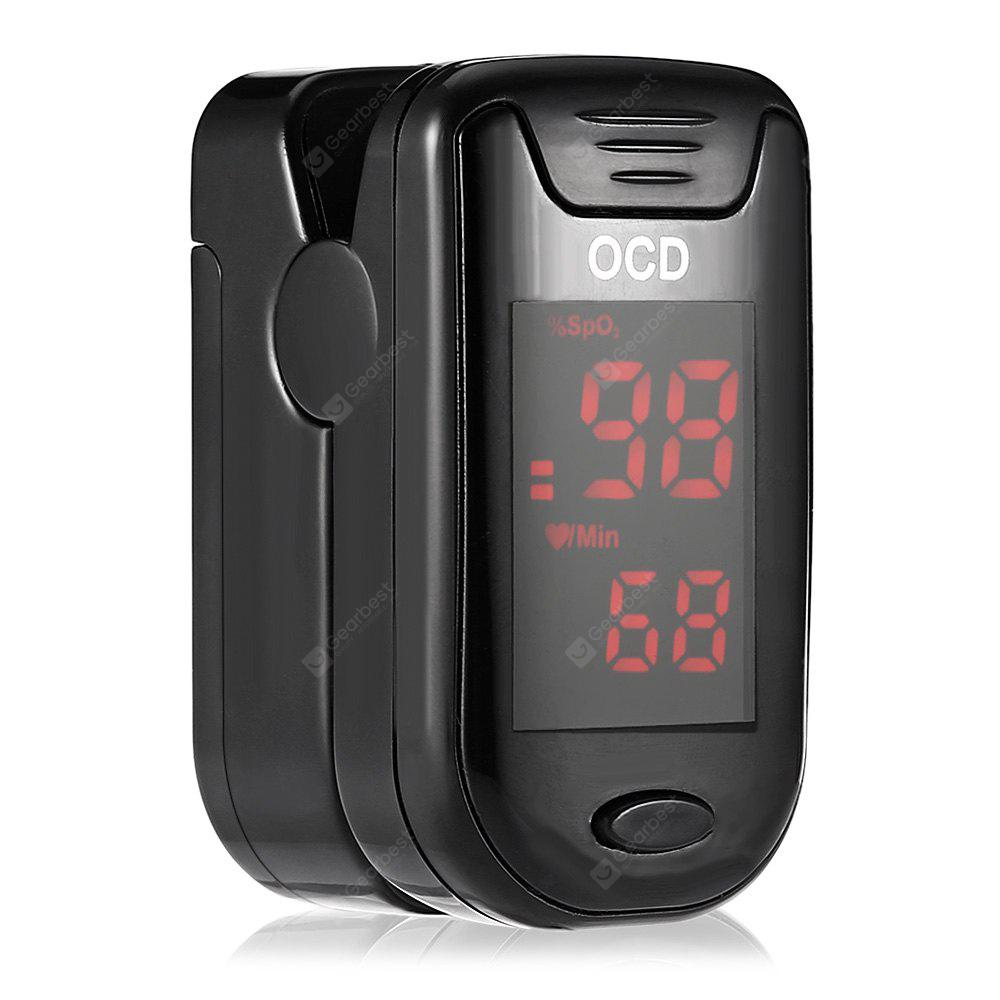 Fingertip Pulse OCD Oximeter Blood Oxygen Saturation Monitor