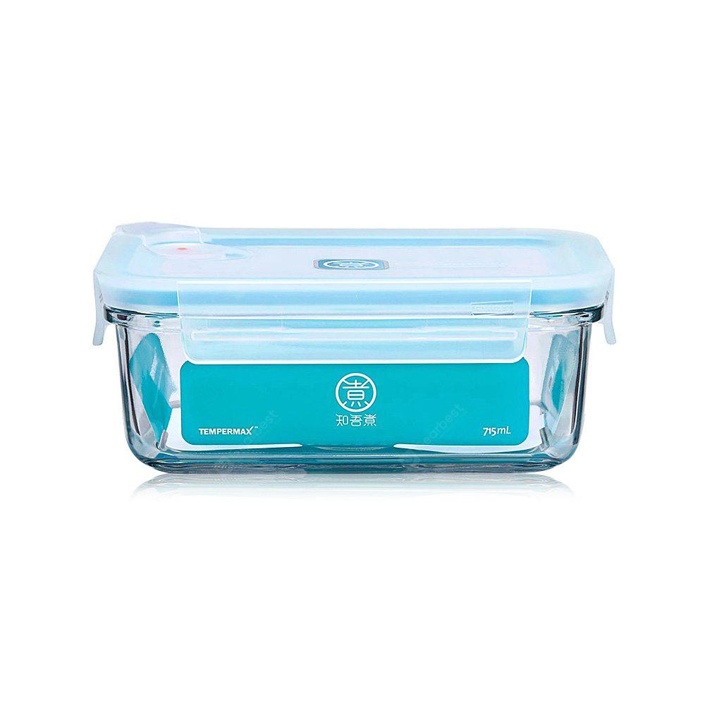 715ml Rectangle Glass Food Storage Container