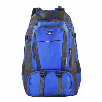 Buy BLUE Outdoor Durable Large Capacity Nylon Backpack for Men for $26.96 in GearBest store