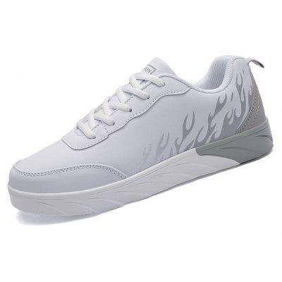 Male Ultralight Color Block Cushion Skateboarding SneakersMen's Sneakers<br>Male Ultralight Color Block Cushion Skateboarding Sneakers<br><br>Closure Type: Lace-Up<br>Contents: 1 x Pair of Shoes, 1 x Box<br>Decoration: Split Joint<br>Function: Slip Resistant<br>Materials: PU, Microfiber<br>Occasion: Sports, Shopping, Running, Party, Outdoor Clothing, Basketball, Casual, Riding, Daily, Holiday, Office<br>Outsole Material: PU<br>Package Size ( L x W x H ): 33.00 x 24.00 x 11.00 cm / 12.99 x 9.45 x 4.33 inches<br>Package Weights: 0.82kg<br>Seasons: Autumn,Spring<br>Style: Modern, Leisure, Fashion, Comfortable, Casual<br>Toe Shape: Round Toe<br>Type: Sports Shoes<br>Upper Material: Microfiber