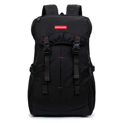 Buy BLACK Men Outdoor Water-resistant Large Capacity Backpack for $31.60 in GearBest store