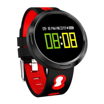 X9 - VO Heart Rate SmartwatchSmart Watches<br>X9 - VO Heart Rate Smartwatch<br><br>Alert type: Vibration<br>Anti-lost: Yes<br>Band material: Silicone<br>Band size: 23.5 x 1.8 cm<br>Battery  Capacity: 105mAh<br>Bluetooth calling: Phone call reminder<br>Bluetooth Version: Bluetooth 4.0<br>Built-in chip type: NRF52832<br>Case material: IP Steel<br>Charging Time: About 4 hours<br>Compatability: Android 4.4 or above and iOS 7.0 or above<br>Compatible OS: Android, IOS<br>Dial size: 4.05 x 4.05 x 1.1 cm<br>Find phone: Yes<br>Groups of alarm: 3<br>Health tracker: Blood Oxygen,Blood Pressure,Heart rate monitor,Sedentary reminder,Sleep monitor<br>IP rating: IP68<br>Language: Arabic,English,French,German,Italian,Japanese,Korean,Portuguese,Russian,Spanish,Traditional Chinese<br>Locking screen: 3<br>Messaging: Message reminder<br>Notification: Yes<br>Notification type: Wechat, Twitter, Facebook, WhatsApp<br>Operating mode: Touch Key<br>Package Contents: 1 x Smartwatch, 1 x English Manual, 1 x Charging Cable<br>Package size (L x W x H): 13.00 x 8.06 x 7.45 cm / 5.12 x 3.17 x 2.93 inches<br>Package weight: 0.1463 kg<br>People: Female table,Male table<br>Product size (L x W x H): 4.05 x 23.50 x 1.10 cm / 1.59 x 9.25 x 0.43 inches<br>Product weight: 0.0340 kg<br>RAM: 64K<br>Remote control function: Remote Camera<br>ROM: 512K<br>Screen: OLED<br>Screen size: 0.95 inch<br>Shape of the dial: Round<br>Standby time: 7 - 15 days<br>Type of battery: Li-ion battery<br>Waterproof: Yes