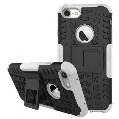 Dirt-resistant Full Cover Stand Case for iPhone 7 / 8iPhone Cases/Covers<br>Dirt-resistant Full Cover Stand Case for iPhone 7 / 8<br><br>Compatible for Apple: iPhone 7, iPhone 8<br>Features: Anti-knock, Back Cover, Case with Kickstand, Dirt-resistant, Shatter-Resistant Case<br>Material: TPU<br>Package Contents: 1 x Case<br>Package size (L x W x H): 15.00 x 8.00 x 1.50 cm / 5.91 x 3.15 x 0.59 inches<br>Package weight: 0.0500 kg<br>Product size (L x W x H): 14.40 x 7.40 x 1.40 cm / 5.67 x 2.91 x 0.55 inches<br>Product weight: 0.0480 kg<br>Style: Modern