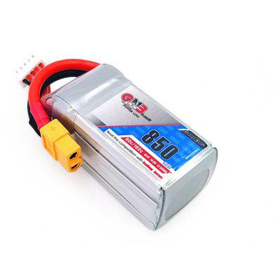 Buy COLORMIX LiPo Battery with XT60 Plug 14.8V 850mAh 80C for $20.19 in GearBest store
