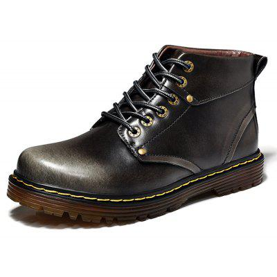 Male Versatile Soft Lightweight Ankle Top Casual Boots