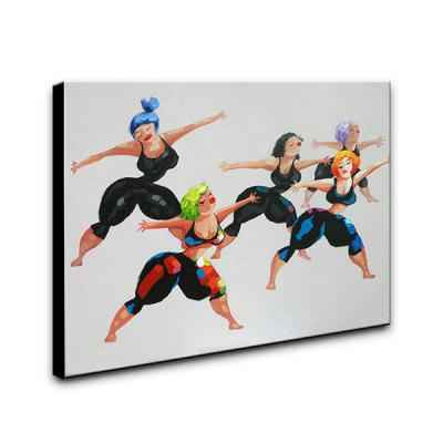 YHHP Dancing Women Oil Painting Decorative PictureOil Paintings<br>YHHP Dancing Women Oil Painting Decorative Picture<br><br>Brand: YHHP<br>Craft: Oil Painting<br>Form: One Panel<br>Material: Canvas<br>Package Contents: 1 x Oil Painting<br>Package size (L x W x H): 52.00 x 62.00 x 5.00 cm / 20.47 x 24.41 x 1.97 inches<br>Package weight: 1.1000 kg<br>Painting: Include Inner Frame<br>Product size (L x W x H): 50.00 x 60.00 x 3.00 cm / 19.69 x 23.62 x 1.18 inches<br>Product weight: 0.6500 kg<br>Shape: Horizontal<br>Style: Beautiful, Amazing<br>Subjects: People<br>Suitable Space: Bedroom,Cafes,Dining Room,Hotel,Living Room,Office