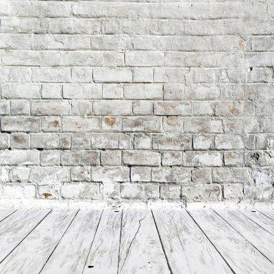Anti-crease Vintage Brick Wall Photographic Background Cloth