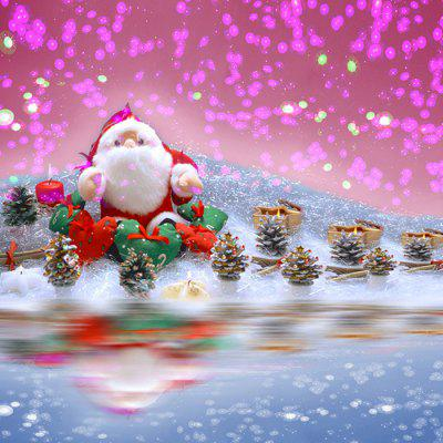 1232 Anti-crease Fadeless Christmas Photographic Background