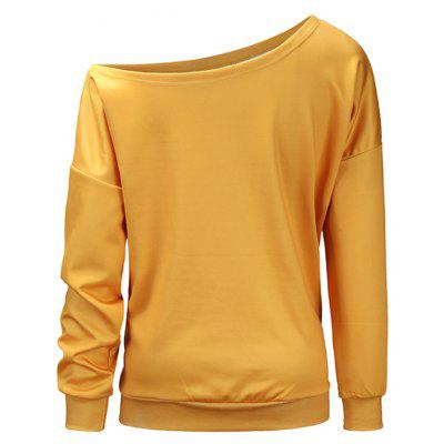 Female Pullover Halloween Look One-shouldered SweatshirtSweatshirts &amp; Hoodies<br>Female Pullover Halloween Look One-shouldered Sweatshirt<br><br>Clothes Type: Sweatshirt<br>Material: Polyester, Spandex<br>Occasion: Going Out, Daily Use, Club, Casual<br>Package Contents: 1 x Sweatshirt, 1 x Bag<br>Package size: 38.00 x 30.00 x 2.00 cm / 14.96 x 11.81 x 0.79 inches<br>Package weight: 0.3200 kg<br>Product weight: 0.3000 kg<br>Style: Hip-Hop, Casual<br>Thickness: Regular
