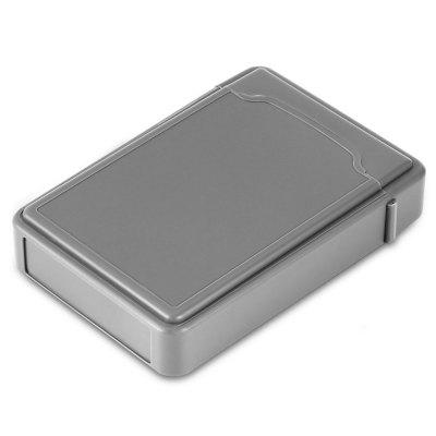 32P08 - RTK Hard Disk Drive Protective Case 3.5 inch PPHDD Enclosure<br>32P08 - RTK Hard Disk Drive Protective Case 3.5 inch PP<br><br>Case material: PP<br>Color: Gray<br>Model: 32P08 - RTK<br>Package size (L x W x H): 21.50 x 13.00 x 5.00 cm / 8.46 x 5.12 x 1.97 inches<br>Package weight: 0.0990 kg<br>Packing List: 1 x Protective Case<br>Product size (L x W x H): 16.00 x 11.00 x 3.50 cm / 6.3 x 4.33 x 1.38 inches<br>Product weight: 0.0960 kg<br>Size: 3.5 inch