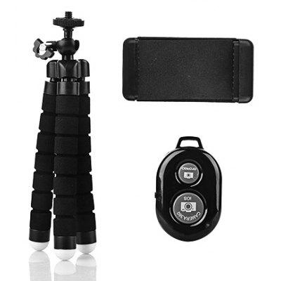 Tripod Mount Stand Phone Clip Holder