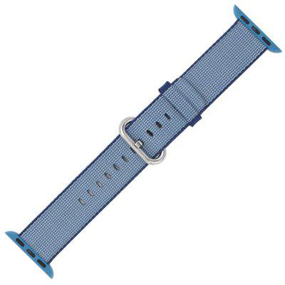 Banda de Reloj Tejido de Nylon Fino Simple para 42mm Apple Watch