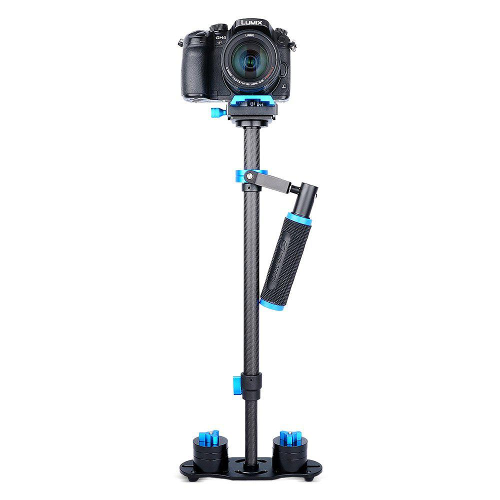 YELANGU S60T Handheld Carbon Fiber Photography Stabilizer BLUE
