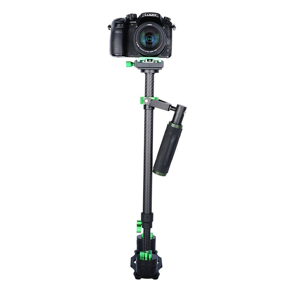 YELANGU S60T Handheld Carbon Fiber Photography Stabilizer GREEN