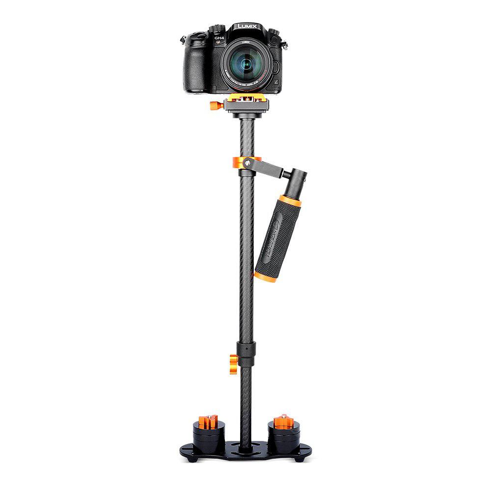 YELANGU S60T Handheld Carbon Fiber Photography Stabilizer ORANGE