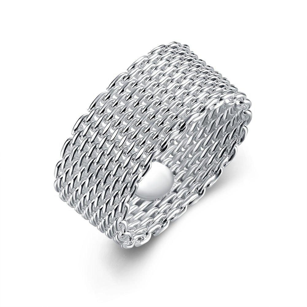 Modish Unisex Contracted Knitted Ring