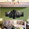God Painting Modern Prints Hand Hanging Wall Art 5PCS - COLORMIX