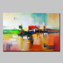 Mintura Modern Oil Painting Unframed Abstract Style Wall Art