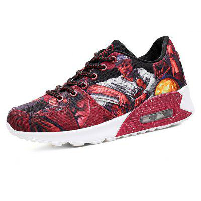 Female Trendy Soft Ultralight Cushion Printed SneakersWomens Sneakers<br>Female Trendy Soft Ultralight Cushion Printed Sneakers<br><br>Closure Type: Lace-Up<br>Contents: 1 x Pair of Shoes, 1 x Box<br>Function: Slip Resistant<br>Materials: PU, Fabric<br>Occasion: Sports, Shopping, Running, Riding, Outdoor Clothing, Party, Basketball, Casual, Daily, Holiday<br>Outsole Material: PU<br>Package Size ( L x W x H ): 32.00 x 24.00 x 12.00 cm / 12.6 x 9.45 x 4.72 inches<br>Package Weights: 0.75kg<br>Pattern Type: Character<br>Seasons: Autumn,Spring<br>Style: Modern, Leisure, Fashion, Comfortable, Casual<br>Toe Shape: Round Toe<br>Type: Sports Shoes<br>Upper Material: Cotton Fabric