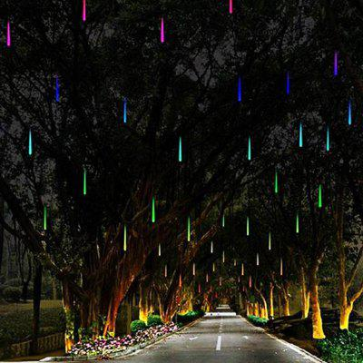 JIAWEN 30CM 8-tube Waterproof Meteor Light AC 100 - 240VLED Strips<br>JIAWEN 30CM 8-tube Waterproof Meteor Light AC 100 - 240V<br><br>Beam Angle: 360 Degree<br>Brand: JIAWEN<br>Color Temperature or Wavelength: 6000-6500K, 635-700nm, 490-560nm, 450-490nm<br>Features: Festival Lighting<br>Initial Lumens ( lm ): 420lm<br>LED Quantity: 136<br>Length ( m ): 3<br>Light Source: LED<br>Light Source Color: Blue,RGB,White<br>Package Content: 1 x LED Meteor Rain Light<br>Package size (L x W x H): 40.00 x 7.50 x 4.00 cm / 15.75 x 2.95 x 1.57 inches<br>Package weight: 0.2040 kg<br>Power Supply: 100-240V<br>Product size (L x W x H): 30.00 x 1.20 x 1.20 cm / 11.81 x 0.47 x 0.47 inches<br>Product weight: 0.1500 kg<br>Type: Waterproof, String Lights<br>Voltage: 100 - 240V<br>Waterproof Rate: IP65<br>Wattage (W): 6