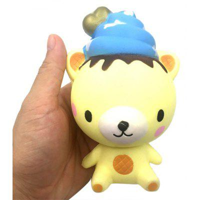 Creative Squishy Squeeze Slow Rising Toy Bear Design
