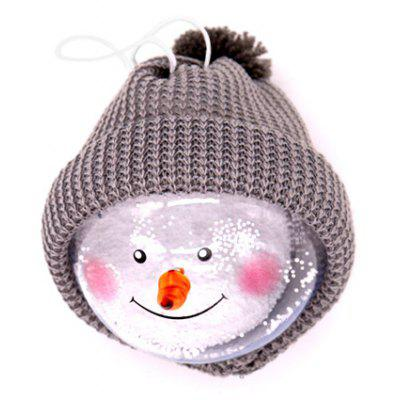 Snowman Pattern Hanging Decoration Toy for Christmas Tree